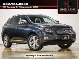 used lexus rx 450h hybrid used lexus rx 450h for sale in schaumburg il 26 used rx 450h