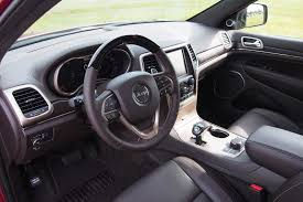 jeep grand cherokee interior seating 2016 jeep grand cherokee ecodiesel review autoguide com news