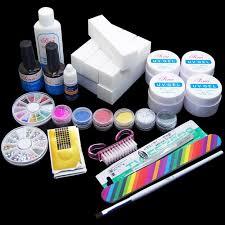 popular acrylic nail supply kit buy cheap acrylic nail supply kit