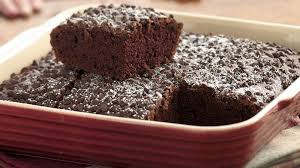 double chocolate snack cake recipe bettycrocker com