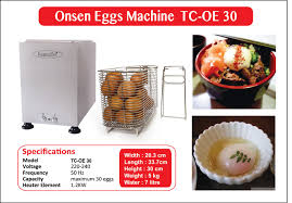 machine a cuisiner onsen egg processing machine 1 invention tamago