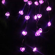 heart shaped christmas lights heart string lights ebay