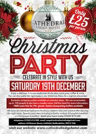 Christmas Party Night - join us for our christmas party nights in lichfield christmas