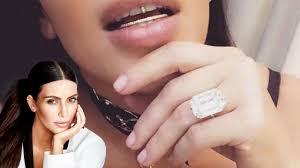 Kim Kardashian Wedding Ring by Kim Kardashian U0027s Stolen Engagement Ring Melted Down Recut And