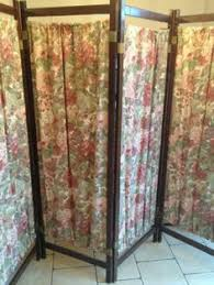 Room Dividers And Privacy Screens - victorian walnut painted three 3 panel room divider dressing