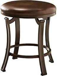 Antique Vanity Chairs Amazon Com Hillsdale Villa Iii Vanity Stool Antique Beige