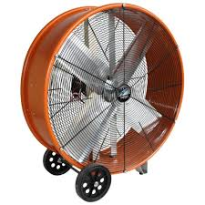 how to cool a warehouse with fans maxxair 30 in industrial heavy duty 2 speed pro drum fan