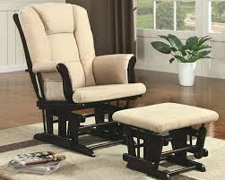 Chair And Ottoman Slipcovers Rocking Chair Ottoman Slipcovers Rocking Chair With Footstool