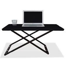 lorell slim adjust desk riser 33 lb load capacity 1 5