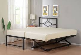 inspiring queen pop up trundle bed and queen size daybed frame