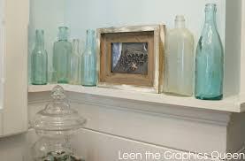 sea glass inspired bathroom leen the graphics queen beach cottage bathroom