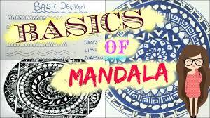 mandala basics u0026 10 easy zen tangle pattern youtube