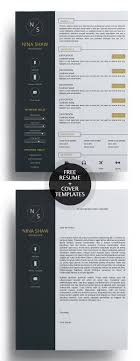 template for cover letter for resume 23 free creative resume templates with cover letter freebies