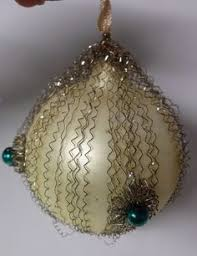 Antique Victorian Christmas Ornaments - heavy mercury glass possibly kugel christmas by rustysecrets