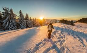 snowshoe and winter hiking switzerland tourism
