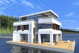 Wohnhaus Kaufen Schwimmende Häuser Floating 265 Kaufen