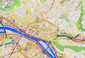 map of rouen city maps rouen