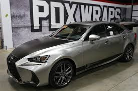 lexus wrapped designing with color change films