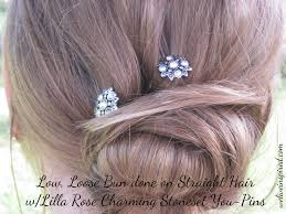 hair styles with rhinestones romantic loose bun updo tutorial for weddings proms and parties