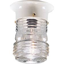 Outdoor Flush Mount Ceiling Light Outdoor Ceiling Flush Mount Light Fixture With Clear Marine Glass