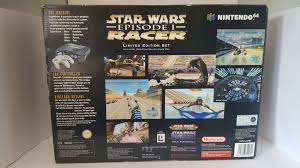 nintendo 64 limited edition star wars console games connection