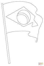 coloring pages cool brazil flag to color coloring page free