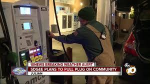 Sdg E Outage Map Sdg U0026e Plans To Pull Power To Julian Community 10news Com Kgtv Tv