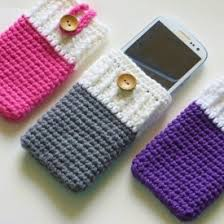 free crochet patterns for home decor this crochet pattern can be adapted for any phone it is a simple