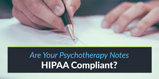 Writing Counselling Session Notes Are Your Psychotherapy Notes Hipaa Compliant Theranest