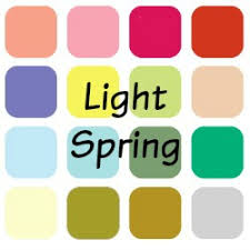 spring color so what is a light spring