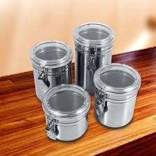 aliexpress com buy stainless steel canister kitchen storage box