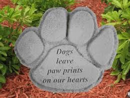 dog memorial memorial dogs leave paw prints on our hearts