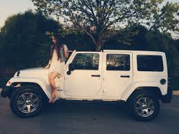 jeep rubicon white best 25 all white jeep wrangler ideas on pinterest white jeep