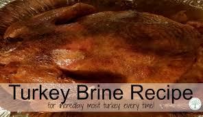 brine mix for turkey brine recipe for a turkey