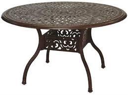 cast aluminum dining table cast aluminum outdoor dining tables luxedecor