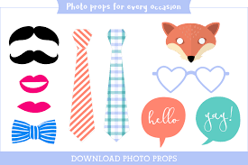 picture props printable photo booth props party props made easy personal