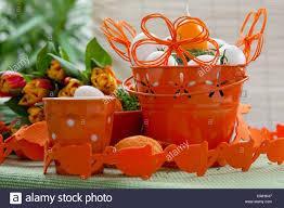 easter pail orange easter pail stock photo royalty free image 50175335 alamy
