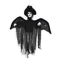 hanging halloween decorations online get cheap scary witch decorations aliexpress com alibaba