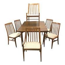 Midcentury Dining Chairs Vintage U0026 Used Dining Table U0026 Chair Sets Chairish