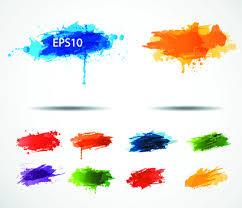 multi color paint splash free vector download 24 792 free vector