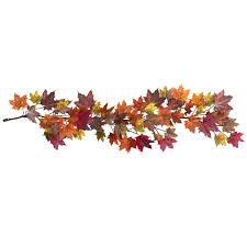 fall garland 60 maple leaf garland silk specialties