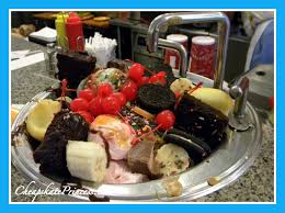 Disney World Must Eat Beaches  Cream Soda Shop For Ice Cream Fun - Kitchen sink ice cream sundae