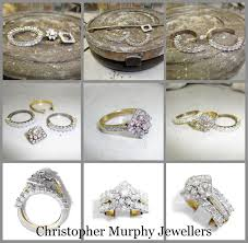 wedding rings redesigned wow up your ring christopher murphy jewellers