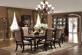 italian dining room sets sets brown rustic chandelier lighting