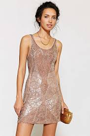 pretty new years dresses nye dress ecote beaded mini dress outfitters women s