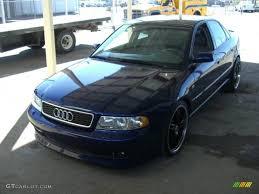 2001 audi quattro 2001 santorin blue pearl effect audi a4 1 8t quattro sedan