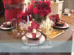 romantic table settings how to create a romantic table setting youtube