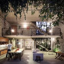 natural and stunning kitchen and dining layout ideas in maracanã
