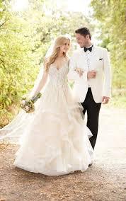 Wedding Skirt Princess Cut Wedding Dress With Layered Tulle Skirt Martina Liana