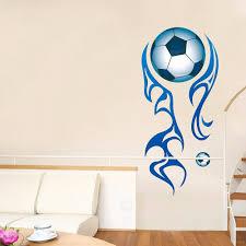 large football wall stickers football lounge wall decals boys room football wall decal boys